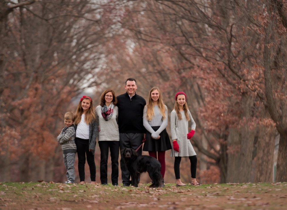 Family and Pet in Bryn Mawr